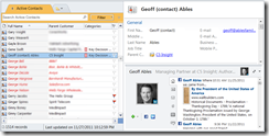 Click to open an interactive overview of CRM for Outlook