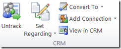 CRM 2011 for Outlook
