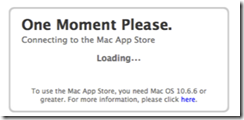loading download itunes page